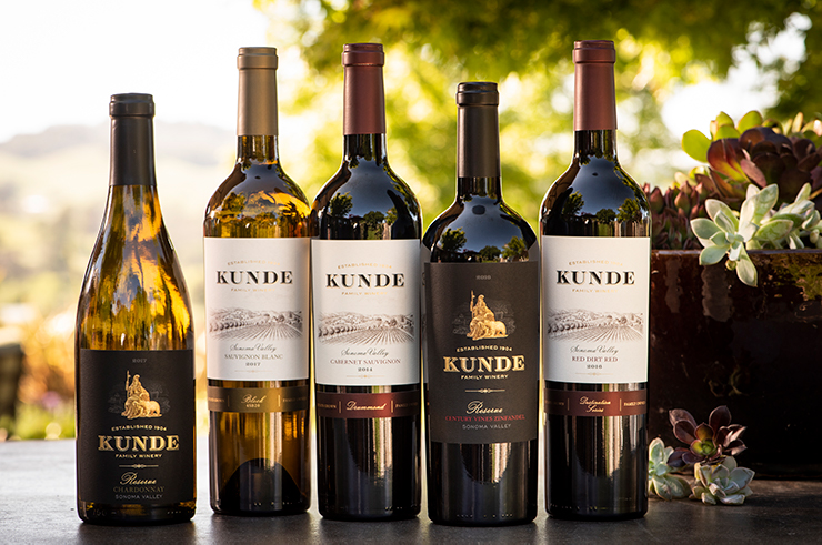 Sign up for the Kunde Case Collection Wine Club