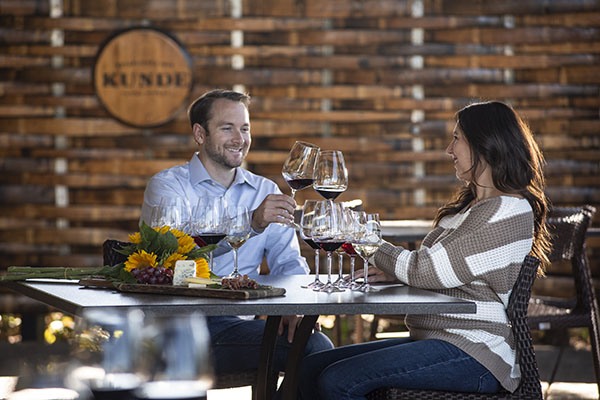Seated Tasting - Kinneybrook Room & Patio