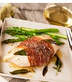 Chicken Saltimbocca with Prosciutto and Fresh Sage