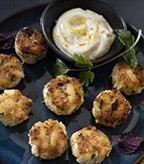 Recipe Image of Mini Crab Cakes with Citrus Aioli