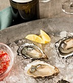 Recipe Image of Oysters on the Half Shell with Magnolia Lane Mignonette