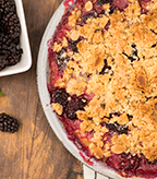 Plum Berry Crumble
