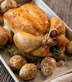 Recipe Image of Roasted Lemon Thyme Chicken