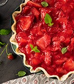 Springtime Strawberry Pie