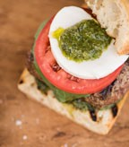 Recipe Image of Caprese Burger