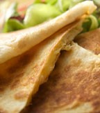 Mushroom and Havarti Quesadillas