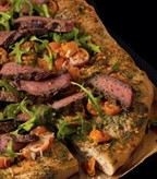 Recipe Image of Pesto, Steak & Arugula Pizza