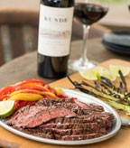 Recipe Image of Grilled Skirt Steak Fajitas